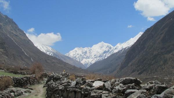 la vallée de l'annapurna.