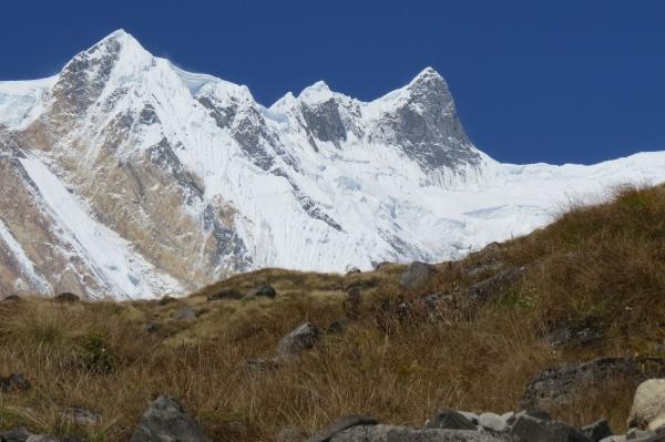 circuit autour du manaslu au népal.